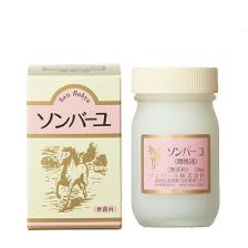 JAN:44993982009016 商品説明: ソンバーユ 無香料 70mlはお顔の基礎化粧品としてそしてボディの皮膚保護用にもお使い頂ける馬油100%のクリームです。 赤ちゃんやデリケートなお肌のかたにもお使いいただけます。